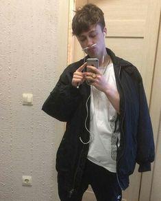 Russian Rap, Russian Boys, Music People, Grunge Fashion, Male Body, Cute Guys, Bad Boys, Beautiful People, Bomber Jacket