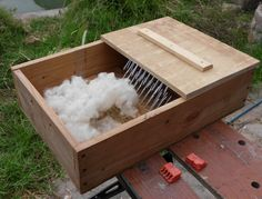 Notes on building a wool picker.