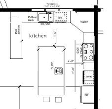 Küchenecke Pantry Layout Spaces Ideen Kitchen Corner Pantry Layout Spaces Ideas - Own Kitchen Pantry Best Kitchen Layout, Kitchen Layout Plans, Kitchen Layouts With Island, Kitchen Cabinet Layout, Kitchen Pantry Design, Kitchen Corner, Outdoor Kitchen Design, Kitchen Ideas, Island Kitchen