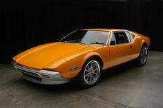 One of my all time favorite cars: a 1973 DeTomaso Pantera. Ford engine, Italian styling-best of both worlds.