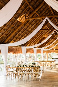 Photography : Gideon Photography | Event Planning : Archive Mexico | Wedding Venue : Finest Playa Mujeres Read More on SMP: http://www.stylemepretty.com/destination-weddings/2017/03/08/finest-playa-mujeres-wedding/