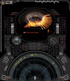 The Avengers' interface designs