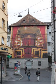 Liu Bolin, Hiding in the City, Vevey, Switzerland, Festival Images