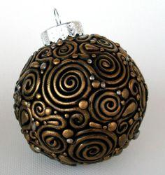 Holiday Filigree Ornament tutorial (not free)