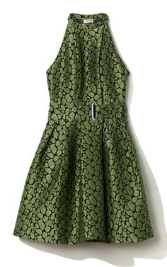 Clouded Leopard Jacquard Dress by Kenzo for Preorder on Moda Operandi