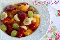 Mommy's Kitchen - Old Fashioned & Country Style Cooking: Easy Fruit Salad {Surprise Breakfast}