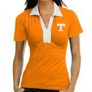 Tennessee Volunteers Ladies Tennessee Orange Jessie Polo  #FanaticsWishList