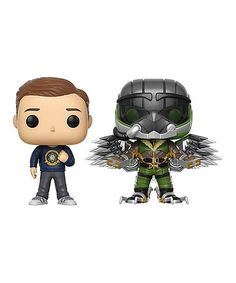 Look what I found on #zulily! Spider-Man Peter Parker & Vulture Pop! Vinyl Figurine Set #zulilyfinds