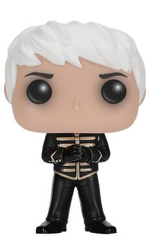 "From the hit rock band My Chemical Romance comes all your favorite band members as a new series of Funko POP Vinyl Figures! Standing 3 3/4"" tall, this figure depicts Gerard Way in his Black Parade out"