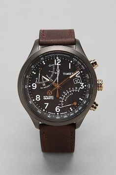 Timex Flyback Chrono Watch 43MM FACE