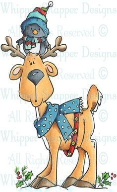 Discover thousands of images about Ringo & Starr - Christmas Images - Christmas - Rubber Stamps Watercolor Christmas Cards, Christmas Drawing, Christmas Paintings, Christmas Doodles, Christmas Clipart, Christmas Pictures, Illustration Noel, Christmas Illustration, Christmas Rock