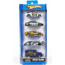 "Hot Wheels 5 Car Gift Pack - Police Patrol -  Mattel - Toys""R""Us $5.49"