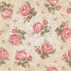 Vintage seamless floral pattern — Stock Illustration #10112176