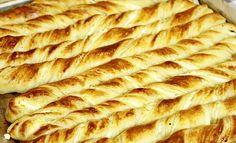 Albanian Recipes, Croatian Recipes, Salty Foods, Salty Snacks, Pastry Recipes, Cooking Recipes, Bread Recipes, Kiflice Recipe, Croatian Cuisine