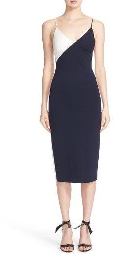Women's Fashion Cushnie Et Ochs Colorblock Sheath Dress
