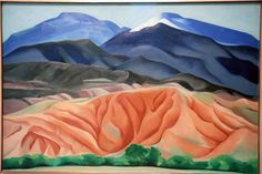 Black Mesa Landscape, New Mexico: Out Back of Marie's, 1930. Oil on canvas. Georgia O'Keeffe. During the summer of 1930, O'Keeffe stayed in Alcalde, ...