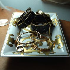 Arm Candy.. Hermes & Cartier!