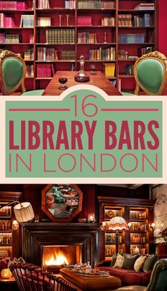 16 Incredible Library Bars In London. Would love to visit a library bar. Oh The Places You'll Go, Places To Travel, Travel Things, Library Bar, Library Books, Reisen In Europa, Voyage Europe, Things To Do In London, One Day In London