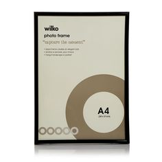 Shop for Wilko Black Easy Photo Frame at wilko - where we offer a range of home and leisure goods at great prices. Cheap Picture Frames, Black Photo Frames, Cheap Frames, Photo Picture Frames, Easy Frame, Stationery Craft, Business For Kids, Travel Essentials, Inspire Me
