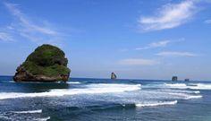 PERGIPEDIA  - Wisata Alam Pantai Goa Cina Malang . Jika anda sudah pernah ke Pantai Bajul Mati  at...