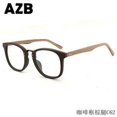 AZB Handmade fashion flat mirror Wood Sunglasses Men Bamboo Sunglass optical frames Women Wood