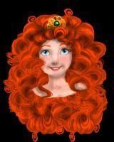 The Crowned Merida by Phoenix-DreamAngel