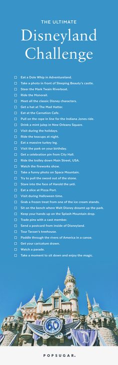 We have created your ultimate Disneyland bucket list so that you can get the most out of your trip to the most magical place on earth.
