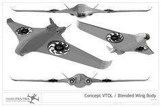 THE NEW CONCEPT UAV - DIY Drones #dronesdiy