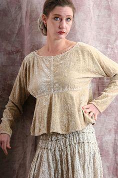 silk linen ecotton slow fashion artisanal layered look..