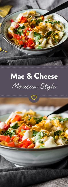 Käsemakkaroni kennt (und liebt) jedes Kind. Die amerikanische Version ist mit besonders viel schmelzendem Cheeeese in der Sauce.