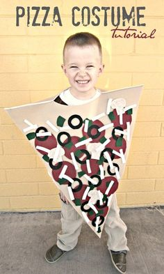 DIY Pizza Halloween Costume