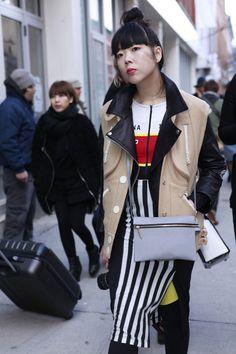 Los mejores looks de Street Style en la Semana de la Moda de Nueva York: Susie Lau de Style Bubble