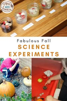 Your kid will love these fun fall science experiments that are perfect for homeschooling! Bring some easy STEM fun to your kitchen table and light a love of learning for science in your children. Toddler Science Experiments, Primary Science, Science Ideas, Science Projects, Educational Activities For Preschoolers, Waldorf Education, Autumn Activities, Arts And Crafts Projects, Fun Learning