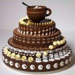 Alexandre Dubosc's Newest Animated Zoetrope Cake, 'Melting Pop' -- Visit site to see it in action!