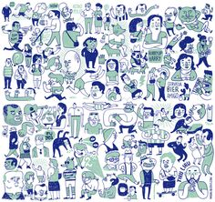 Barcelona Illustrator Miguel Bustos