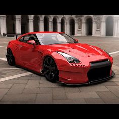 Awesome Nissan Skyline R35. Agree?