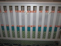 Crib Bumper Using Only Breathable Cotton And No Padding