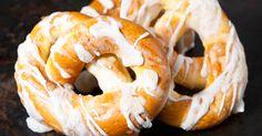 Paleo, Hungarian Recipes, Ciabatta, Bread Rolls, Onion Rings, Bread Recipes, Shrimp, Bakery, Food And Drink
