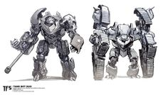 More Concepts for Transformers: The Last Knight Dragonicus, Bulldog, Megatron by Tedeschi, Pringle, Burt