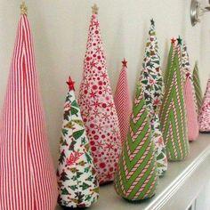 decoracin navidad arbol tela espuma relleno estrella hazlotumismo