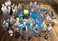 ANSATSU KYOUSHITSU/ASSASSINATION CLASSROOM, TV Season 2, Koro-sensei, 3-E Class