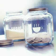 use etching cream to label our jars
