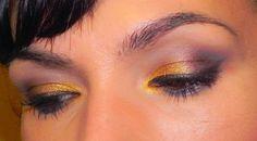 lapinturera - Blog de cosmética, maquillaje y belleza.: Mostaza, berenjena y frambuesa (un look, no una salsa + outfit)