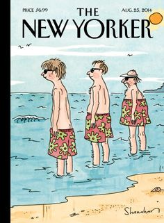 Trunk Show - The New Yorker Cover, August 2014 Poster Print by Danny Shanahan at the Condé Nast Collection