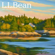 L.L.Bean Fall Catalog 2014.  Cover art by Wendy A. Newcomb.