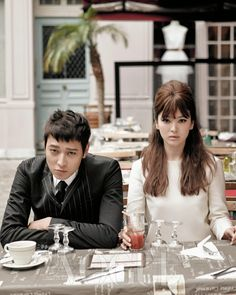 Kang Dong Won and Song Hye Kyo are a Classy Parisian Couple for Vogue | POPdramatic