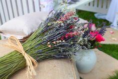 Lavender and Rose Wedding Bouquet - £25.00 : Potpourri