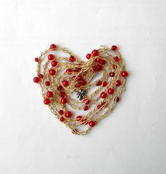 crochet metal wire