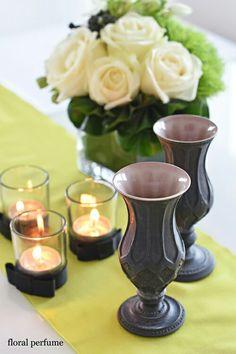 陶芸家の伊藤剛俊さんプレゼントで頂きました花のある食卓
