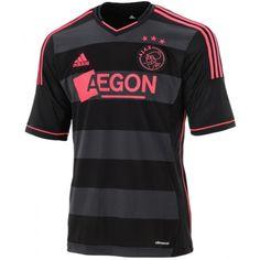 Compra la nueva Camiseta Segunda Equipación del Ajax de la liga Holandesa temporada 2013/2014. Disponible en talla para Adulto. Envío gratis a toda España